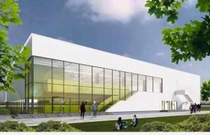 Sală de sport modernă, în Găneasa