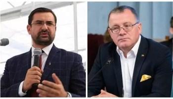 Adrian-Chesnoiu-si-Adrian-Oros-1 HALUCINANT Declarații de ministru: Adrian Oros spune că limitarea la 5 porci pentru fiecare gospodărie țărănească este o lovitură pentru samsari