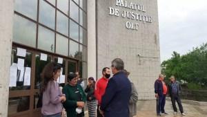 Tribunalul Olt amână pronunţarea deciziei în dosarul ''Caracal''