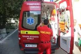 A ajuns la spital după ce a fost lovită de un autoturism
