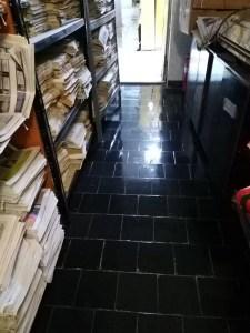 Depozitul cu cărți al Bibliotecii Județene a fost inundat
