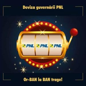Marius Iancu:''PNL JOACĂ ROMÂNIA LA PĂCĂNELE''