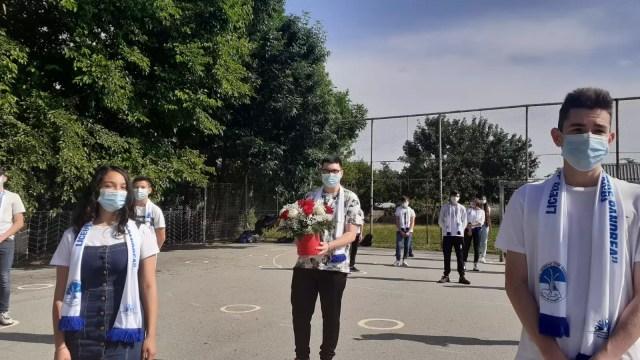 pandrea-3 Într-un liceu din Olt festivitatea de absolvire a învins pandemia