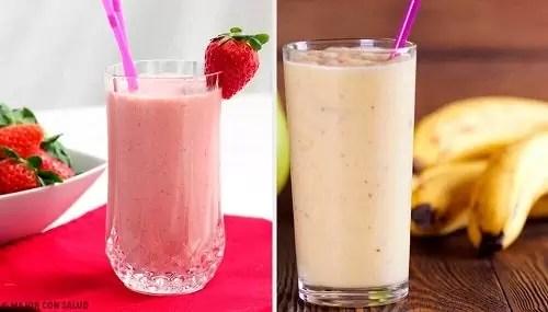 smoothie-uri-cu-banane-si-capsune