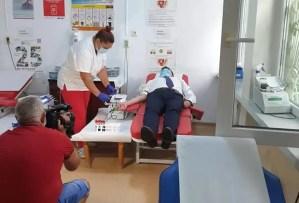 Prefectul de Olt a donat sânge