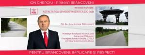Ion Cheroiu, edilul comunei Brâncoveni: IMPLICARE ŞI RESPECT!