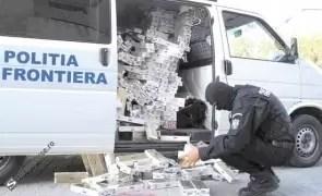 Poliția de Frontieră anunță o captură RECORD de țigări: valoarea depășește 2,4 milioane