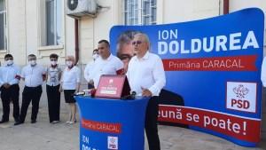 Ion Doldurea a intrat OFICIAL în cursa pentru Primăria Caracal