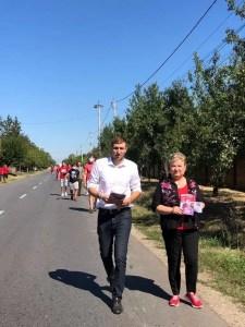 Senatorul Siminica Mirea, alături de Ionuț Dima, în campanie