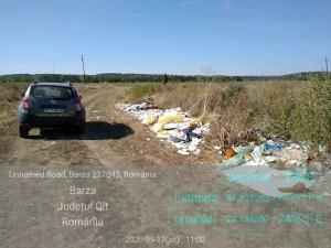 Primăria Bârza, bună de plată pentru gunoiul sătenilor