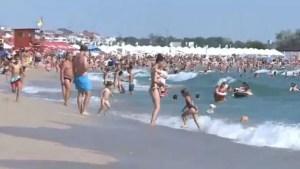 Mai mult de jumătate dintre turiştii care şi-au petrecut vacanţa pe litoralul românesc au folosit voucherele emise de stat