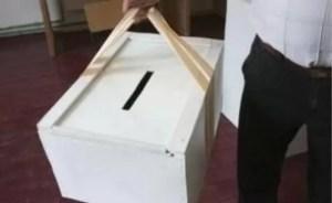 Urna specială va fi folosită cu respectarea măsurilor sanitare: Nu se va intra în locuinţa alegătorului