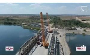 CFR a modernizat 14 poduri feroviare. Podul CFR de peste Olt a fost redat traficului feroviar