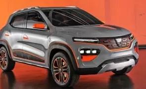 Dacia prezintă primul model 100% electric