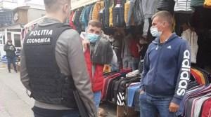Olt: a plouat cu amenzi peste cei care au fost prinși fără mască de protecție
