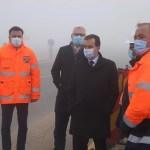 Premierul Ludovic Orban, în vizită la Drumul Expres Craiova-Pitești