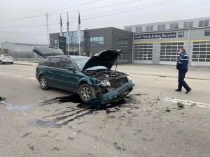 Accident soldat cu victime, în Slatina