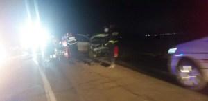 Accident grav cu 3 mașini implicate
