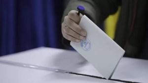 Secție de votare fără curent electric
