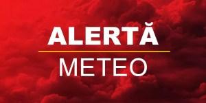 Meteorologii au emis COD GALBEN pentru 10 județe