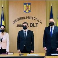 Noii subprefecți au depus jurământul
