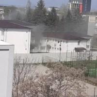 Incendiu la Secţia de Psihiatrie a SJU Slatina