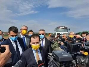 Ludovic Orban, o nouă vizită pe Drumul Expres Craiova-Slatina-Pitești