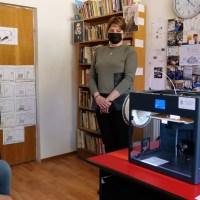 Bibliotecile din Balș și Osica de Sus au primit imprimate 3D