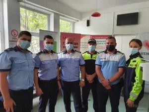 Polițiștii olteni s-au alăturat campaniei de donare de sânge