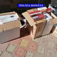 Percheziții în Olt, într-un dosar de contrabandă cu țigări