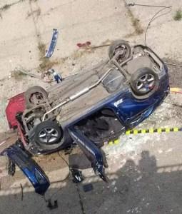 Un caracalean a murit după ce a căzut cu mașina într-un canal