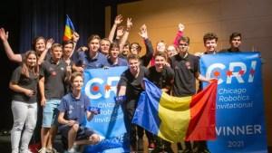 Aur la robotică pentru echipa României. Este prima dată în ultimii 30 de ani când câștigă o echipă care nu este din SUA