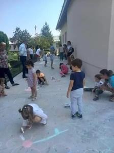 Copiii din Giuvărăști participă la Grădinița de Vară
