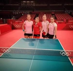Echipa națională feminină de tenis de masă s-a calificat în sferturile de finală la Jocurile Olimpice. Slătinenca Irina Ciobanu face parte din echipă