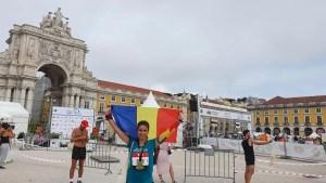 Simona Floricel, la maratonul internaţional de la Lisabona