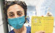 İlk Korona Aşı Pasaportu Zeynep Hemşireye