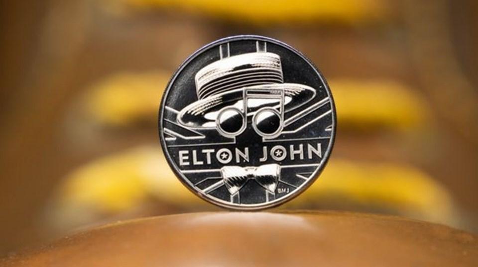 Elton John'un 50. Yılı İçin Para Bastılar