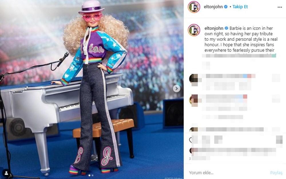 Barbie'nin Son Kahramanı Elton John