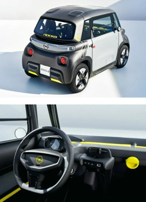 Opel'den Şehir İçi Elektrikli Rocks-e
