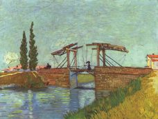 Podul L'Anglois, văzut de Van Gogh