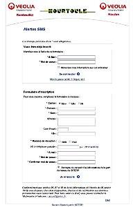 Rambouillet - Alertes SMS