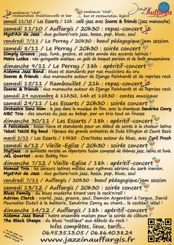 Jazz in Auffargis 2014 (verso)