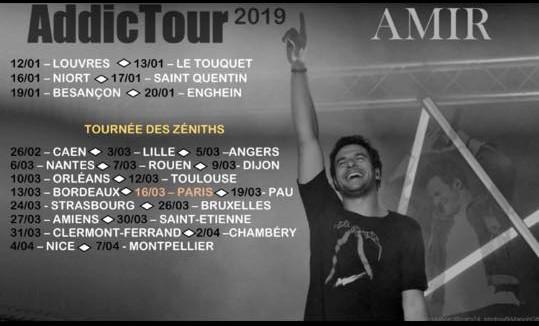 Amir en tournée