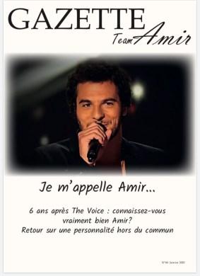 couverture Gazette Amir janvier 2020