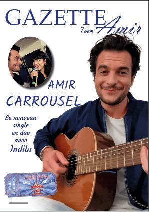 Carrousel le single d'AMIR en duo avec Indila