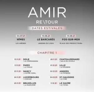 Tournée ReTour d'Amir