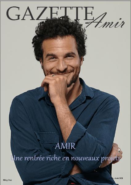 Magazine Amir :amir une rentrée riche en projets