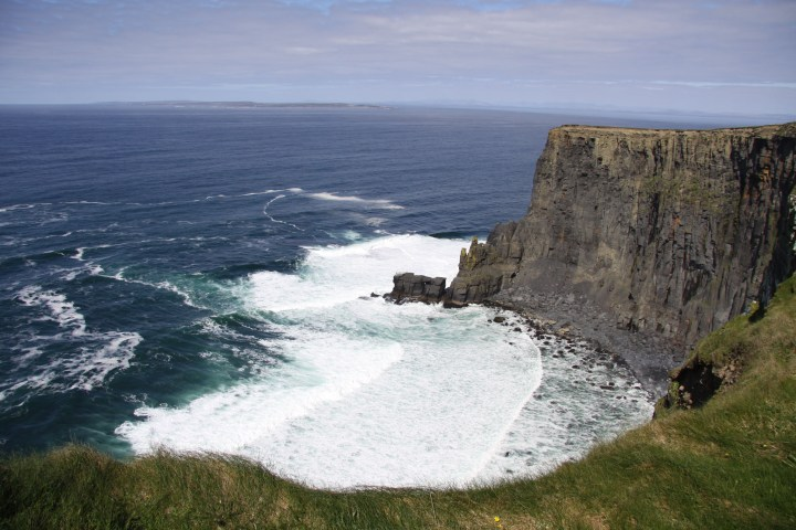 A view from the Cliffs of Moher.