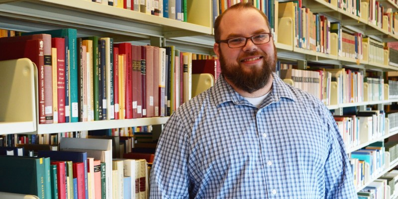 Dr. Patrick Gamsby is Memorials new scholarly communications librarian.