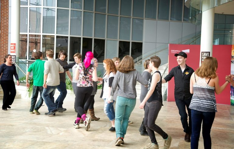 Participants learned about Elizabethan dancing at the Shakespeare 400 workshop held recently.